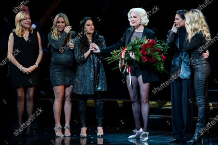 Editorial picture of 'Chicago' musical on Broadway, Curtain Call, New York, USA - 14 Jan 2020