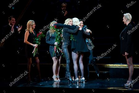 Editorial photo of 'Chicago' musical on Broadway, Curtain Call, New York, USA - 14 Jan 2020
