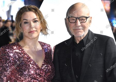 Sunny Ozell and Sir Patrick Stewart