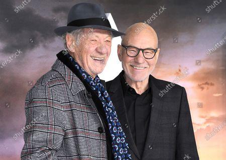 Sir Ian McKellen and Sir Patrick Stewart