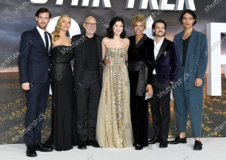 Editorial photo of 'Star Trek: Picard' TV show premiere, London, UK - 15 Jan 2020