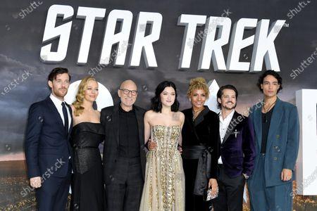 Editorial picture of 'Star Trek: Picard' TV show premiere, London, UK - 15 Jan 2020