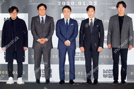 Woo Min-Ho, Kwak Do-Won, Lee Sung-min, and Lee Hee-Joon