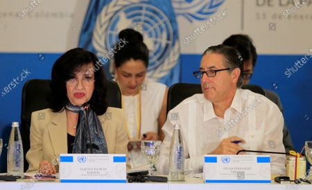 Editorial photo of UN analyzes in Colombia good practices to finance peacebuilding, Cartagena - 15 Jan 2020