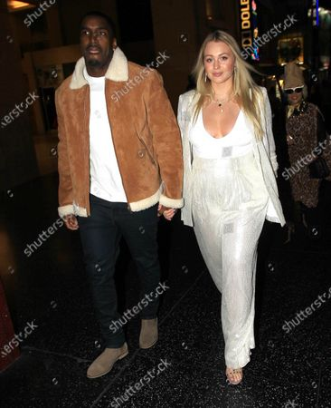 Philip Payne and Iskra Lawrence