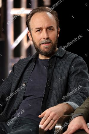"Derek Cianfrance appears at the ""I Know This Much is True"" panel during the HBO TCA 2020 Winter Press Tour at the Langham Huntington, in Pasadena, Calif"