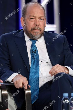 "Bill Camp appears at the ""Forensic Files II"" panel during the HLN TCA 2020 Winter Press Tour at the Langham Huntington, in Pasadena, Calif"