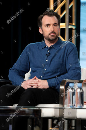 """Rhys Thomas appears at the """"Chad"""" panel during the TBS TCA 2020 Winter Press Tour at the Langham Huntington, in Pasadena, Calif"""