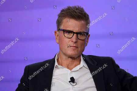 Sarah Aubrey. Chief Content Officer, HBO MAX and President, TNT, TBS, & truTV Kevin Reilly appears at the HBO Max Executive Sessions panel during the HBO TCA 2020 Winter Press Tour at the Langham Huntington, in Pasadena, Calif