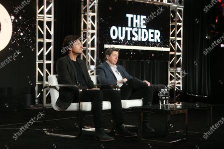 Stock Photo of Jason Bateman and Executive Producer/Writer and Richard Price