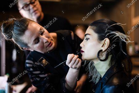 Editorial picture of Dawid Tomaszewski - Backstage - Berlin Fashion Week FW 2020, Germany - 15 Jan 2020