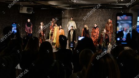Editorial image of Dawid Tomaszewski - Presentation - Berlin Fashion Week FW 2020, Germany - 15 Jan 2020