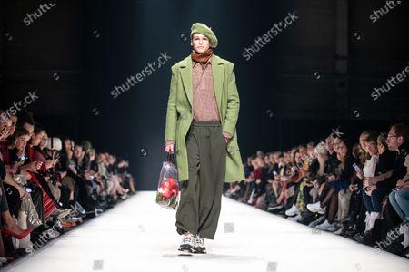 Editorial photo of KXXK - Runway - Mercedes-Benz Fashion Week Berlin FW 2020, Germany - 15 Jan 2020