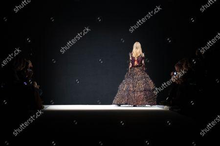 Editorial image of KXXK - Runway - Mercedes-Benz Fashion Week Berlin FW 2020, Germany - 15 Jan 2020