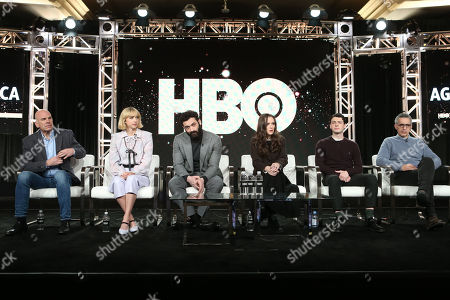 Stock Picture of David Simon, Zoe Kazan, Morgan Spector, Winona Ryder, Anthony Boyle and John Turturro