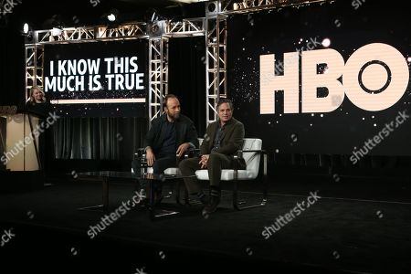 SVP HBO Programming Kathleen McCaffrey, Executive Producer Writer/Director Derek Cianfrance and Mark Ruffalo