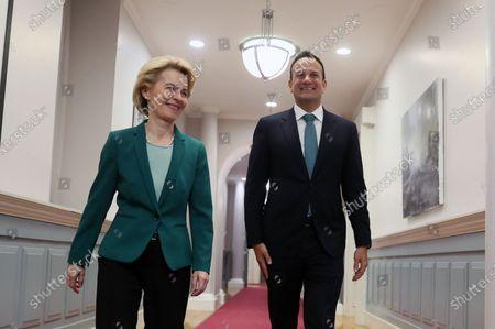 Editorial photo of European Commission President Ursula von der Leyen visits Ireland, Dublin - 15 Jan 2020