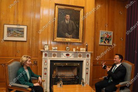 Editorial picture of European Commission President Ursula von der Leyen visits Ireland, Dublin - 15 Jan 2020