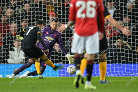Editorial photo of Manchester United vs Wolverhampton Wanderers, United Kingdom - 15 Jan 2020