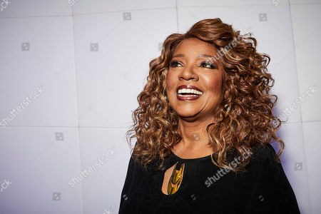 """This photo shows singer Gloria Gaynor posing for a portrait in New York. Gaynor, who had the iconic disco hit song """"I Will Survive"""" in 1980, is nominated for Grammy Awards for best roots gospel album for """"Testimony"""" and best gospel performance for """"Talking About Jesus"""