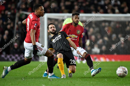 Editorial photo of Soccer FA Cup, Manchester, United Kingdom - 15 Jan 2020