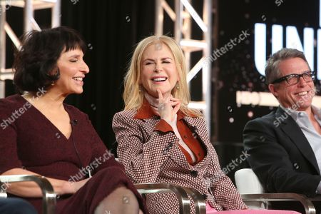 Susanne Bier, Nicole Kidman and Hugh Grant