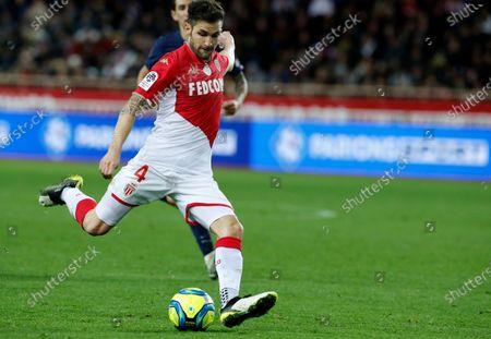 Editorial photo of AS Monaco vs Paris Saint Germain - 15 Jan 2020