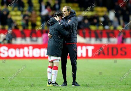Editorial image of AS Monaco vs Paris Saint Germain - 15 Jan 2020
