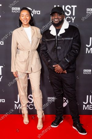 Yasmin Evans and Ace attend a special screening and Q&A of 'Just Mercy' hosted by BBC Radio 1xtra. 'Just Mercy' in cinemas January 17th.