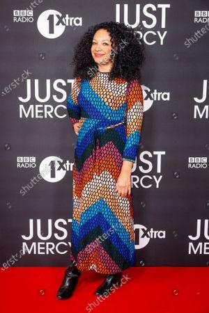 Editorial picture of 'Just Mercy' film screening, London, UK - 15 Jan 2020
