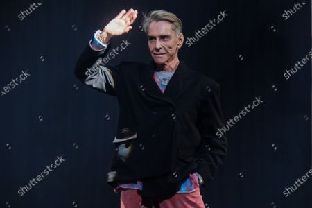 German designer Wolfgang Joop waves after the show 'Look by Wolfgang Joop' during the Mercedes-Benz Fashion Week Berlin, in Berlin, Germany, 15 January 2020. The Fall/Winter 2020 collections are presented at the MBFW Berlin from 13 to 15 January.
