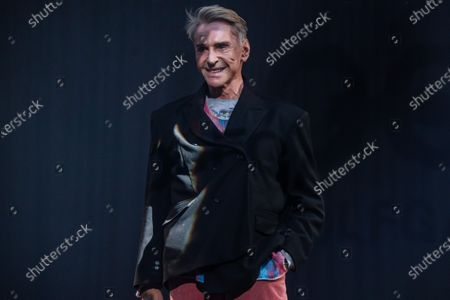 German designer Wolfgang Joop stands on the stage after the show 'Look by Wolfgang Joop' during the Mercedes-Benz Fashion Week Berlin, in Berlin, Germany, 15 January 2020. The Fall/Winter 2020 collections are presented at the MBFW Berlin from 13 to 15 January.