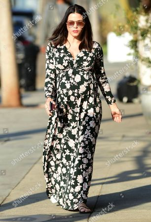 Editorial photo of Jenna Dewan out and about, Los Angeles, USA - 15 Jan 2020