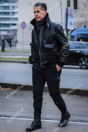 Editorial picture of Street Style, Autumn Winter 2020, Milan Fashion Week Men's, Italy - 14 Jan 2020