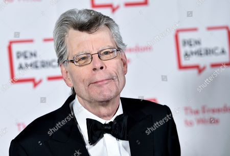 """Stephen King at the 2018 PEN Literary Gala in New York. King, a member of the Academy of Motion Picture Arts and Sciences, says he cares only about """"quality,"""" not """"diversity"""" when deciding on awards. The best-selling author's comments came shortly after the announcement of this year's nominees for the Academy Awards, widely criticized for only choosing male directors and for an almost entirely white group of acting finalists. King wrote that he had been allowed to nominate people for best picture, best screenplay and best original screenplay, and that for him """"the diversity issue _ as it applies to individual actors and directors, anyway _ did not come up"""