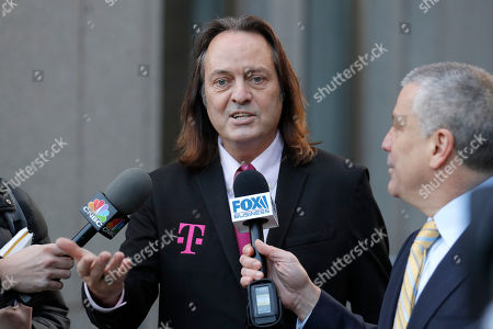 Editorial picture of T Mobile Spring Antitrust, New York, USA - 15 Jan 2020