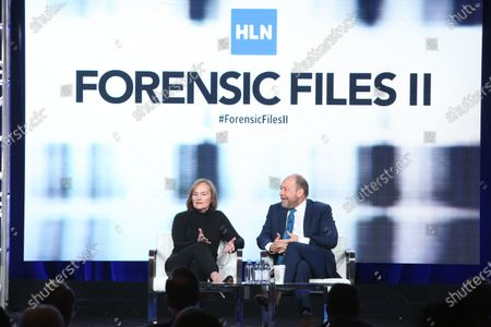 Stock Image of Nancy Duffy and Bill Camp