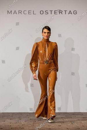 Editorial photo of Marcel Ostertag - Runway - Berlin Fashion Week FW 2020, Germany - 15 Jan 2020