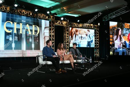 Editorial photo of 'Chad' TV show, Warner Bros TCA Winter Press Tour, Panels, Los Angeles, USA - 15 Jan 2020