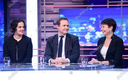 Stock Image of Nadia Whittome, Tom Tugendhat and Caroline Lucas