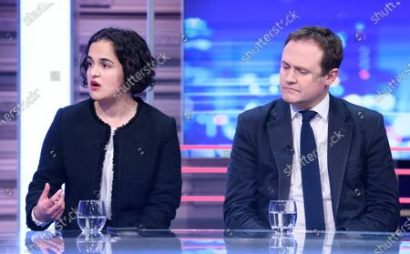 Stock Photo of Nadia Whittome and Tom Tugendhat