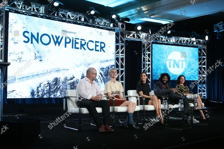 Graeme Manson, Mickey Sumner, Jennifer Connelly, Daveed Diggs and Alison Wright