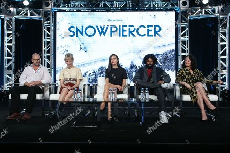 Stock Picture of Graeme Manson, Mickey Sumner, Jennifer Connelly, Daveed Diggs and Alison Wright