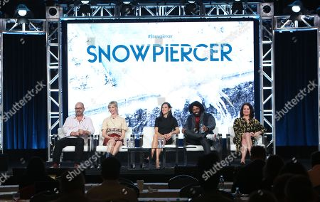 Stock Image of Graeme Manson, Mickey Sumner, Jennifer Connelly, Daveed Diggs and Alison Wright