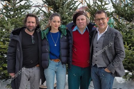 Ludovic Colbeau-Justin, Anne Serra, Philippe Katerine and Dany Boon