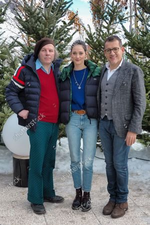 Philippe Katerine Anne Serra and Dany Boon