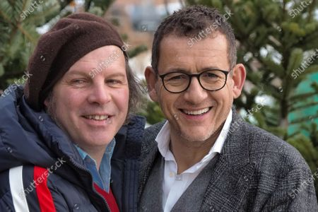Philippe Katerine and Dany Boon