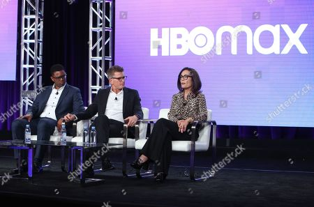 Editorial picture of HBO Max presentation, Warner Bros TCA Winter Press Tour, Panels, Los Angeles, USA - 15 Jan 2020