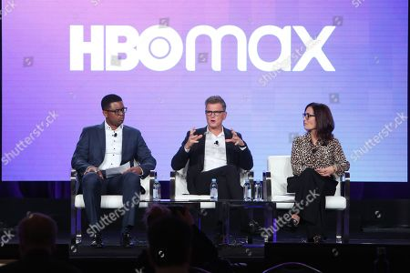 Editorial photo of HBO Max presentation, Warner Bros TCA Winter Press Tour, Panels, Los Angeles, USA - 15 Jan 2020