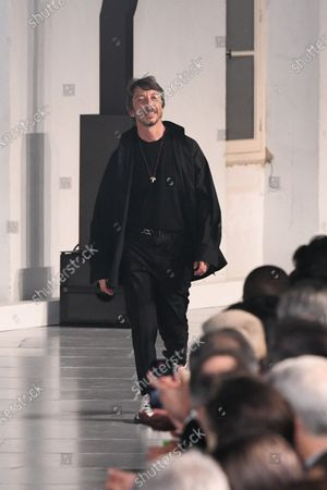 Pierpaolo Piccioli on the catwalk